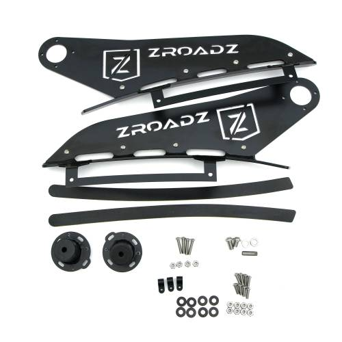 ZROADZ OFF ROAD PRODUCTS - 2016-2019 Nissan Titan Front Roof LED Bracket to mount (1) 50 Inch Staight LED Light Bar - PN #Z337181 - Image 3