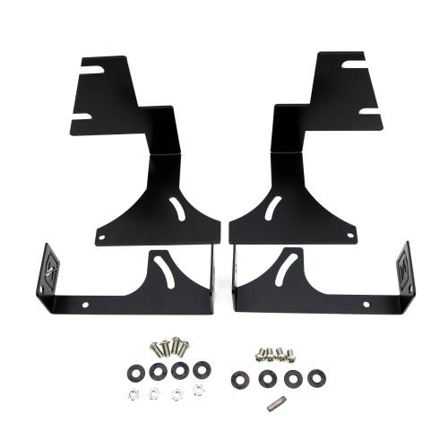 ZROADZ OFF ROAD PRODUCTS - 2015-2020 Colorado, Canyon Rear Bumper LED Kit with (2) 6 Inch LED Straight Double Row Light Bars - PN #Z382671-KIT - Image 4