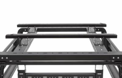 ZROADZ                                             - 2019-2021 Jeep Gladiator Access Overland Rack Crossbars, Black, Mild Steel, Bolt-On, 2 Pc Set with Hardware - PN #Z834011 - Image 13