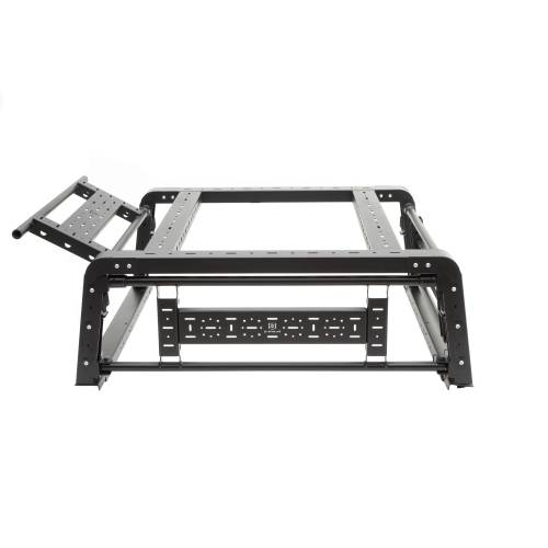 ZROADZ OFF ROAD PRODUCTS - 2019-2021 Jeep Gladiator Access Overland Rack With Three Lifting Side Gates, For use on Factory Trail Rail Cargo Systems - PN #Z834211 - Image 27