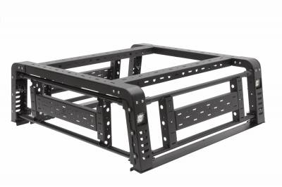 ZROADZ                                             - 2019-2021 Jeep Gladiator Access Overland Rack With Three Lifting Side Gates, Without Factory Trail Rail Cargo System - PN #Z834201 - Image 34
