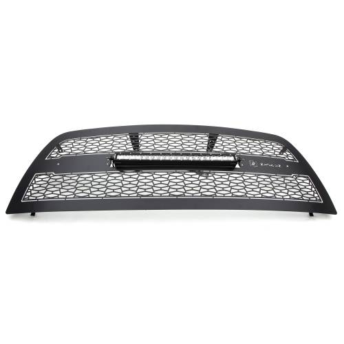 """T-REX GRILLES - 2013-2018 Ram 2500, 3500 ZROADZ Grille, Black, 1 Pc, Replacement with (1) 20"""" LED - PN #Z314521 - Image 2"""
