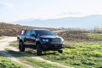 ZROADZ OFF ROAD PRODUCTS - 2019-2021 Ford Ranger Access Overland Rack With Three Lifting Side Gates - PN #Z835201 - Image 15