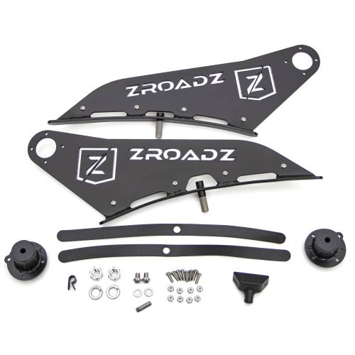 ZROADZ OFF ROAD PRODUCTS - 2009-2014 Ford F-150, Raptor Front Roof LED Bracket to mount 50 Inch Curved LED Light Bar - PN #Z335721 - Image 7