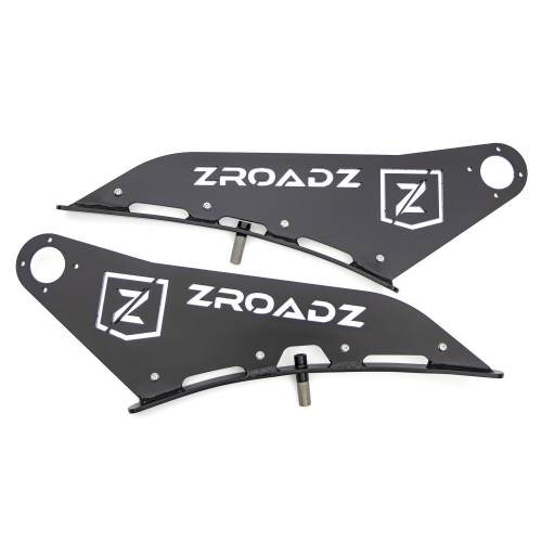 ZROADZ OFF ROAD PRODUCTS - 2009-2014 Ford F-150, Raptor Front Roof LED Bracket to mount 50 Inch Curved LED Light Bar - PN #Z335721 - Image 8