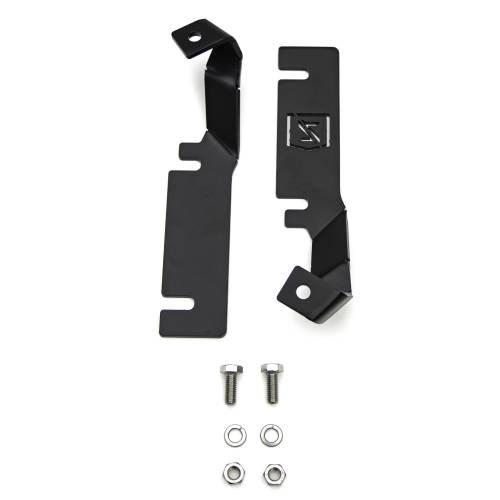 ZROADZ OFF ROAD PRODUCTS - 2016-2017 Ford Explorer Hood Hinge LED Bracket to mount (2) 3 Inch LED Pod Lights - PN #Z366641 - Image 7