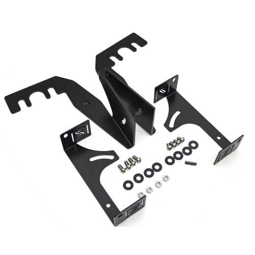 ZROADZ                                             - 2015-2018 Ram Rebel Rear Bumper LED Bracket to mount (2) 6 Inch Straight Light Bar - PN #Z384551 - Image 5