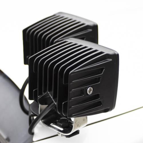 ZROADZ OFF ROAD PRODUCTS - Hood Hinge Adapter Plate to mount (4) 3 Inch LED Pod Lights to Hood Hinge Bracket - PN #Z360002 - Image 3