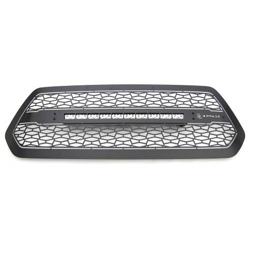 """T-REX GRILLES - 2016-2017 Tacoma ZROADZ Grille, Black, 1 Pc, Insert with (1) 20"""" LED - PN #Z319411 - Image 2"""
