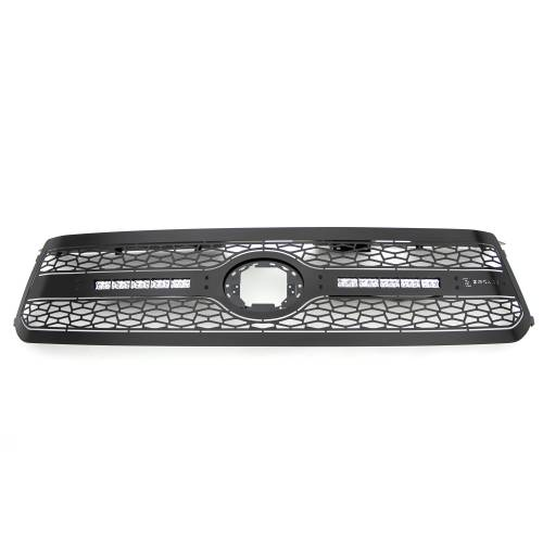 """T-REX GRILLES - 2018-2021 Tundra ZROADZ Grille, Black, 1 Pc, Replacement with (2) 10"""" LEDs, Does Not Fit Vehicles with Camera - PN #Z319661 - Image 8"""