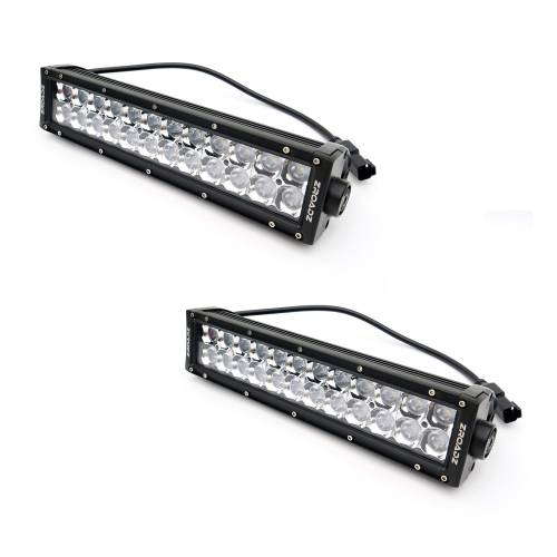 """T-REX GRILLES - 2010-2014 F-150 Raptor SVT Torch Grille, Black, 1 Pc, Replacement, Chrome Studs with (2) 12"""" LEDs - PN #6315661 - Image 9"""