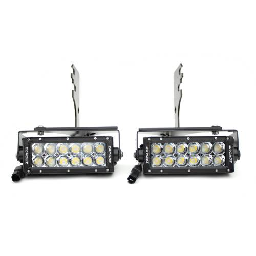 ZROADZ OFF ROAD PRODUCTS - 2016-2021 Toyota Tacoma Rear Bumper LED Kit with (2) 6 Inch LED Straight Double Row Light Bars - PN #Z389401-KIT - Image 15