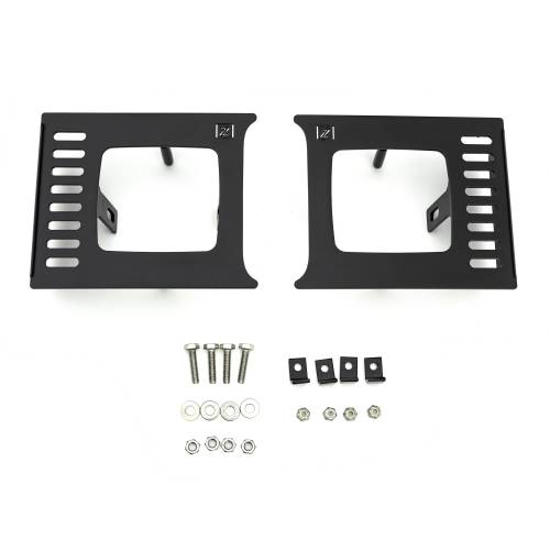 ZROADZ OFF ROAD PRODUCTS - 2018-2020 Ford F-150 Lariat, Limited Front Bumper Center LED Kit with (2) 3 Inch LED Pod Lights - PN# Z325711-KIT - Image 12