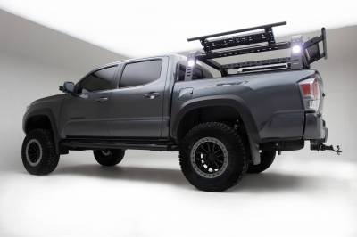 ZROADZ OFF ROAD PRODUCTS - 2016-2021 Toyota Tacoma Access Overland Rack With Three Lifting Side Gates - PN #Z839201 - Image 16