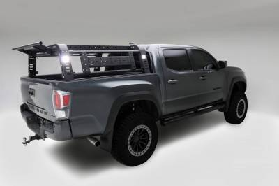 ZROADZ OFF ROAD PRODUCTS - 2016-2021 Toyota Tacoma Access Overland Rack With Three Lifting Side Gates - PN #Z839201 - Image 17