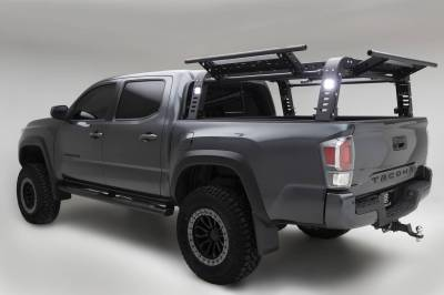 ZROADZ OFF ROAD PRODUCTS - 2016-2021 Toyota Tacoma Access Overland Rack With Three Lifting Side Gates - PN #Z839201 - Image 18