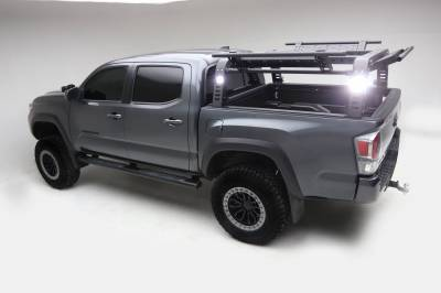 ZROADZ OFF ROAD PRODUCTS - 2016-2021 Toyota Tacoma Access Overland Rack With Three Lifting Side Gates - PN #Z839201 - Image 19