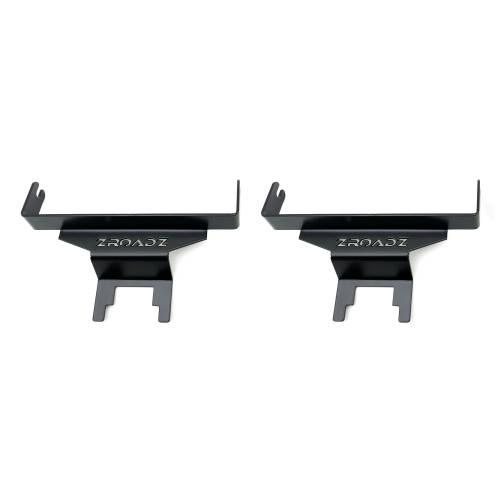 ZROADZ OFF ROAD PRODUCTS - 2018-2021 Jeep JL Rear Window LED Kit with (2) 6 Inch LED Straight Single Row Slim Light Bars - PN #Z394941-KIT - Image 7