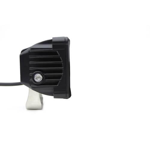 ZROADZ OFF ROAD PRODUCTS - 3 inch ZROADZ LED Light Pod, G2 Series, Amber, Flood Beam, 1 Piece - PN #Z30BC12W-D3A - Image 2