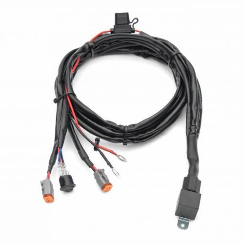 ZROADZ OFF ROAD PRODUCTS - 3 inch ZROADZ LED Light Pod Kit, G2 Series, Amber, Flood Beam, 2 Piece Kit With Wiring Harness - PN #Z30BC12W-D3A-K - Image 7
